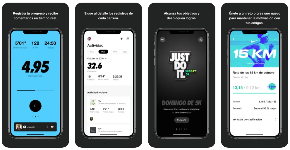Nike Run Club Ideal Para Hacer Running (Android Y IOS)