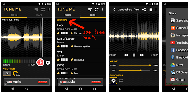Tune Me App Android y Iphone